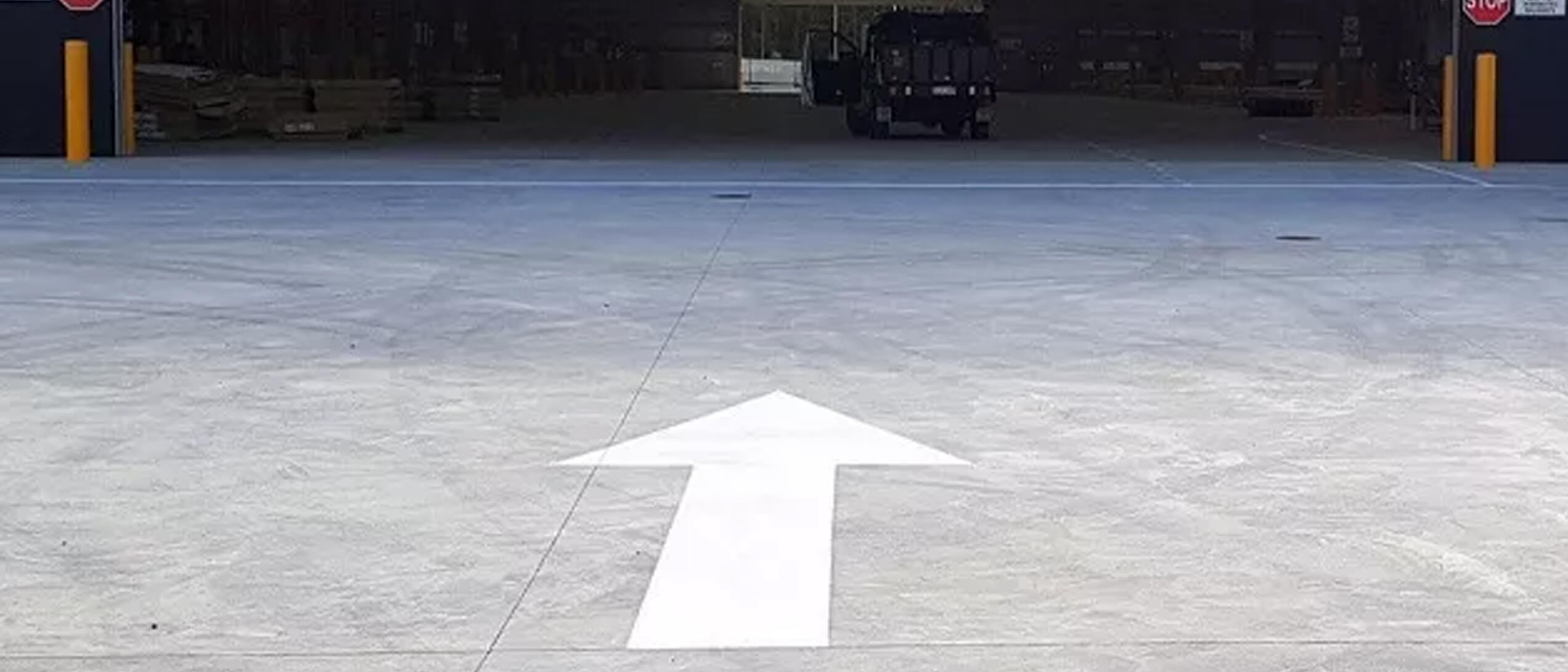 Distribution Centre Line Marking Project